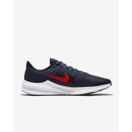 Zapatillas Nike Downshifter 11 marino rojo hombre