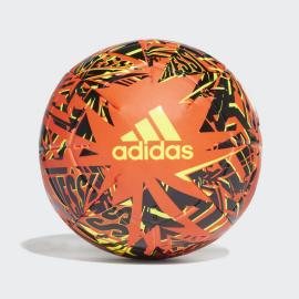 Balón fútbol adidas Messi CLB naranja negro amarillo