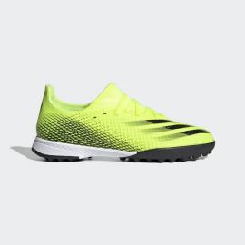 Zapatillas fútbol adidas X Ghosted.3 TF amarillo junior