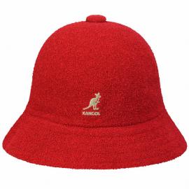 Sombrero Kangol Bermuda Casual rojo