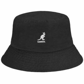 Sombrero Pescador Kangol Washed Bucket negro