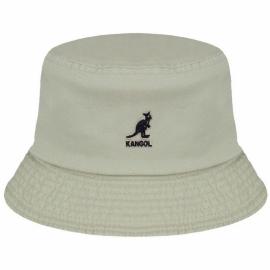 Sombrero Pescador Kangol Washed Bucket beige