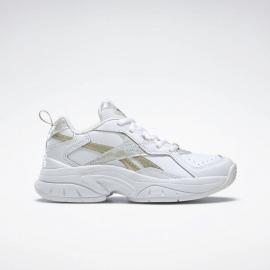 Zapatillas Reebok Xeona blanco dorado metálico junior