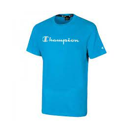 Camiseta Champion Cuello redondo 214142 azul claro hombre