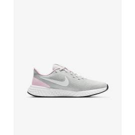 Zapatillas Nike Revolution 5 (PSV) gris rosa junior