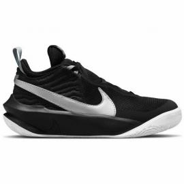 Zapatillas baloncesto Nike Team Hustle D10  negro plata