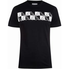 Camiseta Kappa Tigani negro hombre