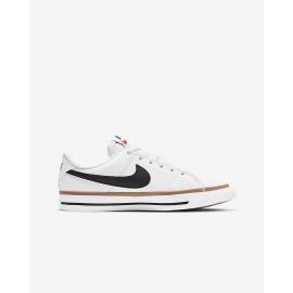 Zapatillas Nike Court Legacy blanco negro junior