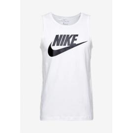 Camiseta Nike Sportswear Tank blanco negro hombre