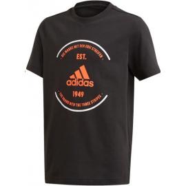 Camiseta Adidas YB BOS negra jr