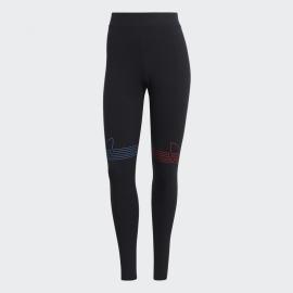 Leggings adidas Originals Loungwear negro mujer