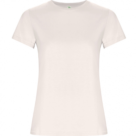 Camiseta Roly Golden Woman blanco vintage mujer