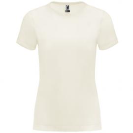 Camiseta Roly Basset crudo mujer