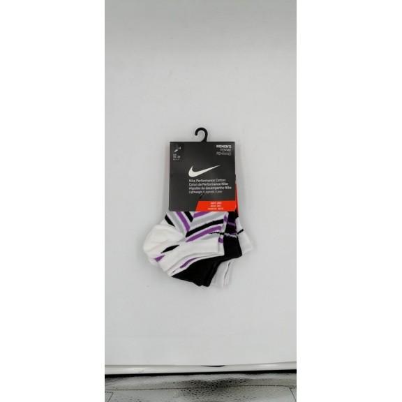 Calcetines mujer Nike Pack de 3 pares Morado ,S SX4735 953