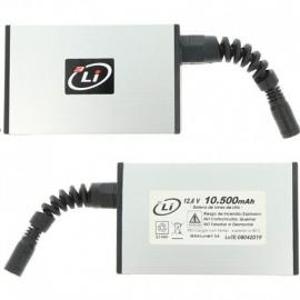 Bateria 3Lithium - 10,5 AH 12v.