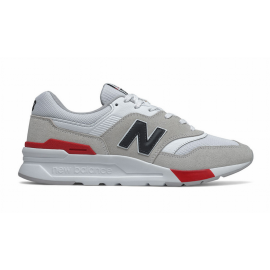 Zapatillas New Balance CM997HVW blanco negro rojo hombre