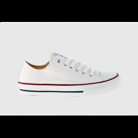 Zapatillas Victoria 106550 lona blanco junior