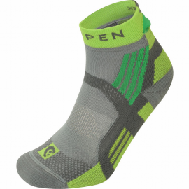 Calcetines trail Lorpen X3TP Trail Running Padded gris verde