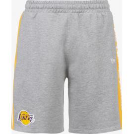 Pantalón corto New Era NBA Side Panel Lakers gris