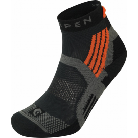 Calcetines montaña trail Lorpen  Trail Running Padded gris