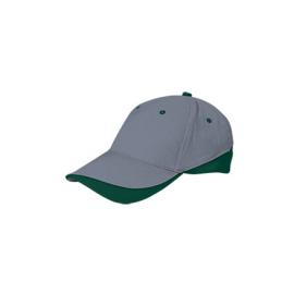 Gorra Valento Tuxton gris verde unisex