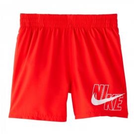 Bañador Nike Essential NESSA771 rojo junior