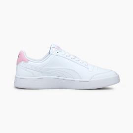 Zapatillas Puma Shuffle blanco rosa junior