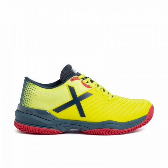 Zapatillas padel Munich Padx 15 amarillo hombre