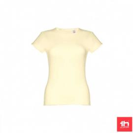Camiseta THC Sofia amarillo pastel mujer
