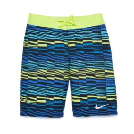 Bañador Nike 8 Volley Short verde multi junior