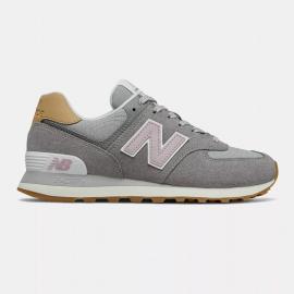 Zapatillas New Balance WL574NA2 gris rosa mujer