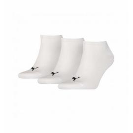Calcetines Puma unisex Sneaker plain blanco