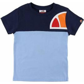 Camiseta Ellesse Adelo azul/celeste junior