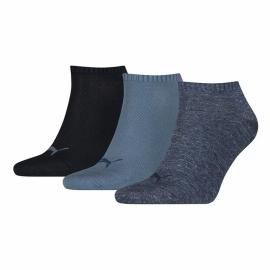 Calcetines Puma unisex Sneaker plain denim blue