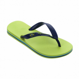 Chanclas Ipanema Clas Brasil II verde azul junior