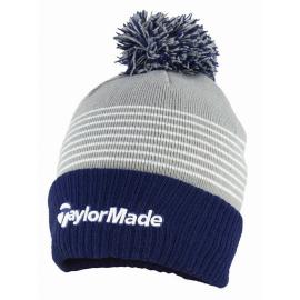 Gorro Taylormade TM20 Bobble beanie azul gris