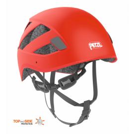 Casco escalada y alpinismo Petzl Boreo rojo
