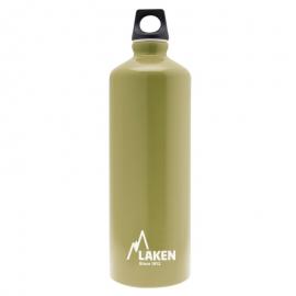 Botella aluminio Laken Futura 1 litro kaki