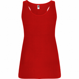 Camiseta tirantes Roly Brenda rojo mujer