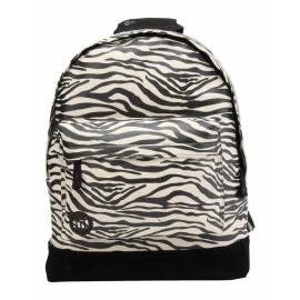 Mochila Mi-Pac Premium Print Cebra negro blanco