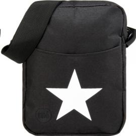 Bolso Mi-Pac Flight negro estrella blanca