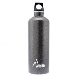 Botella aluminio agua Laken Futura 0.60L gris