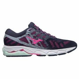 Zapatillas running Mizuno Wave Ultima 12 marino rosa mujer