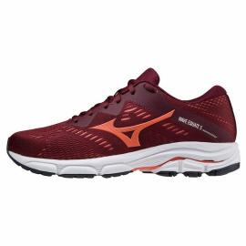 Zapatillas running Mizuno Wave Equate 5 rojo coral mujer
