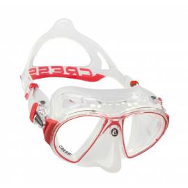Gafas buceo Cressi Zeus transparente rojo unisex