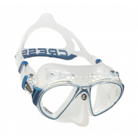 Gafas buceo Cressi Zeus transparente azul unisex