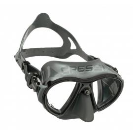 Gafas buceo Cressi Zeus gris negro unisex