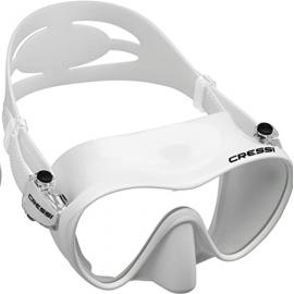 Gafas buceo Cressi F1 blanco unisex
