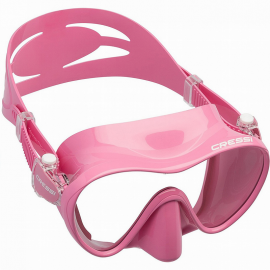 Gafas buceo Cressi F1 rosa junior