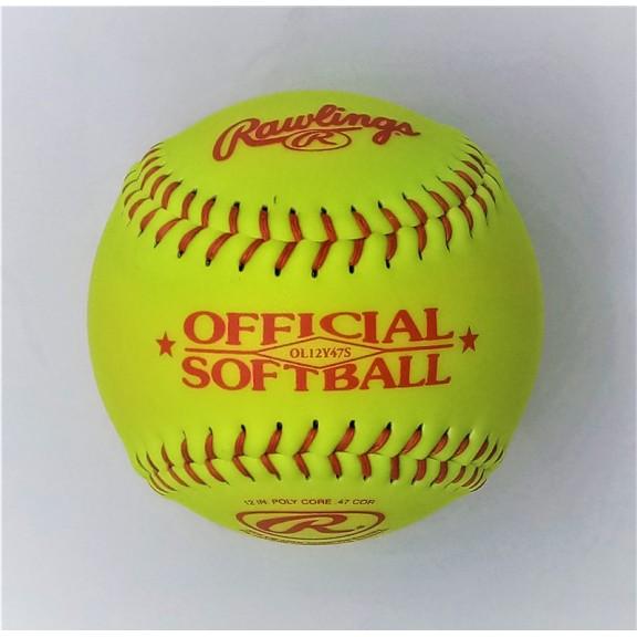 Pelota de Softball  Rawlings 12Y47S
